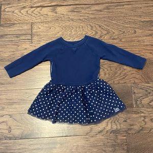 Size 3T Carter's Navy & Polkadot Tulle Skirt Dress